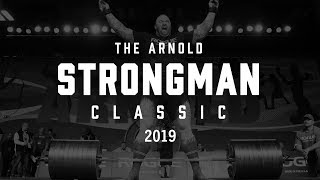 2019 Arnold Strongman Classic | Day One Live Stream