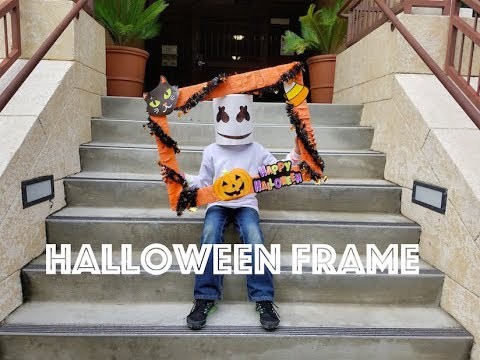 Halloween Frame DIY (halloween marathon)