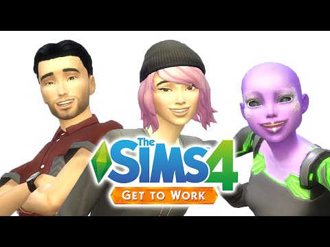 Let's Play The Sims 4 Get to Work — Part One —CAS