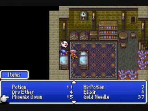 How to get the Excalibur in Final Fantasy IV