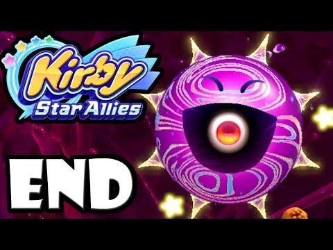 Kirby Star Allies - 2 Player Co-Op! - Switch Gameplay Walkthrough ENDING: Final Boss - Void Termina