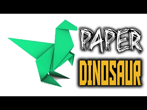 How to make Origami Dinosaurs step by step | Origami Dinosaur | Paper Art And Craft