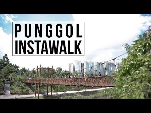 Punggol #InstaWalk With MNDSingapore, HDB & NParks!