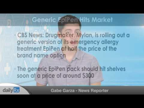 Generic EpiPen Hits Market
