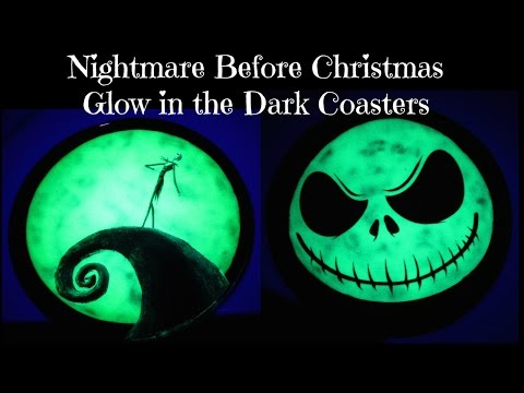 nightmare before christmas glow in the dark coasters another coaster friday craft klatch