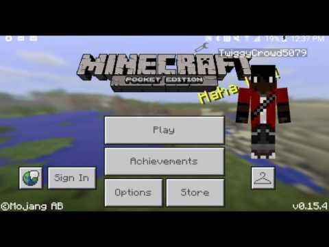 Minecraft PE Working Sponges - Mod Showcase