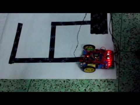 How to make a maze solving robot using arduino -