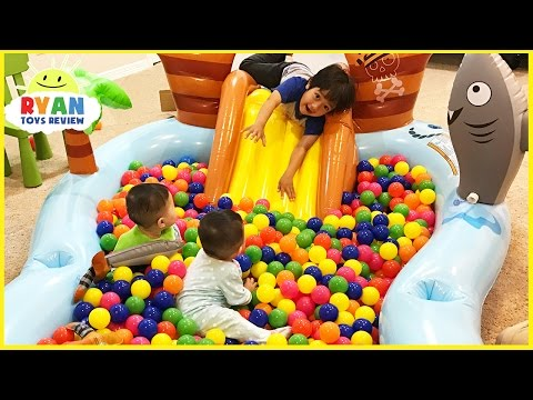 watch The Ball Pit Show for learning colors! Children and Toddlers educational video