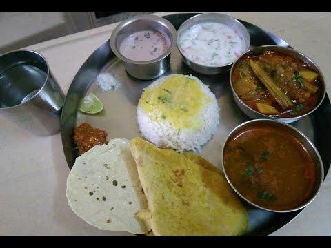 Holi & Gudi padwa special thali   Varan,bhat, puranpoli,katachi amti,mix bhaji,kokum curry,salad