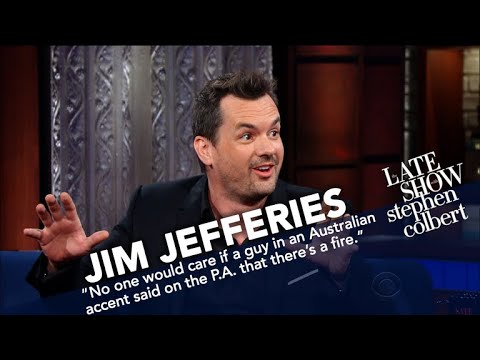 Jim Jefferies Doesn't See The Point In Bombing Australia