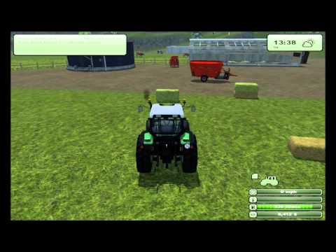 NinthPlanet Plays: Farming Simulator 2013 - Part 15: Efficient Cattle Feeding