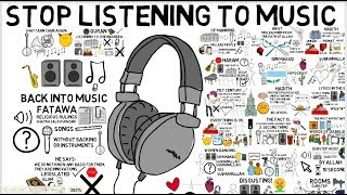 WHY MUSIC IS HARAM - Ibraheem Hussnayn Animated
