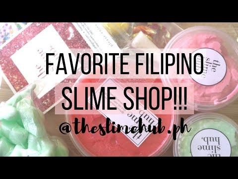 FAVORITE SLIME SHOP REVIEW (Philippines) || Slime Review #4