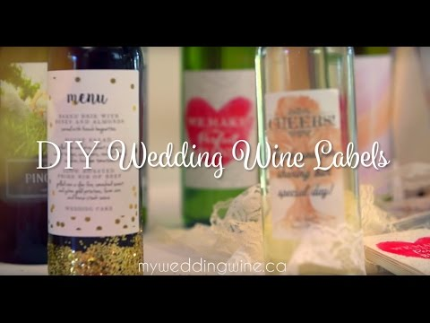 DIY Wedding Wine Labels
