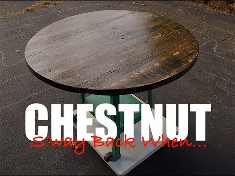 Reclaimed Chestnut Kitchen Table | SBW
