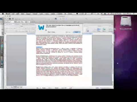 Importing Existing Documents into iBooks Author