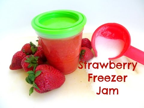 How to make Strawberry Freezer Jam/Jelly