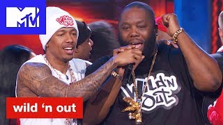 Killer Mike of Run the Jewels Cuts the Beat & Goes In | Wild 'N Out | #Wildstyle