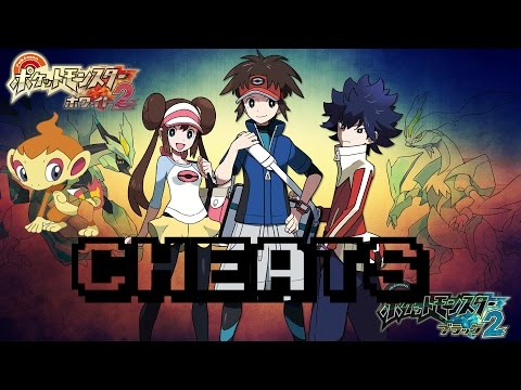 [Tutor]Pokemon Black/White 2 CHEATS!!