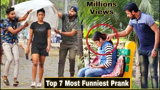 Top 7 Most Funniest Prank 2020| All Time Hit Blockbuster Pranks| Try Not To Laugh| By TCI