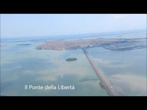Landing in Venice Airport (Italy)