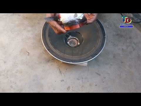 How to change voice coil of speaker at home