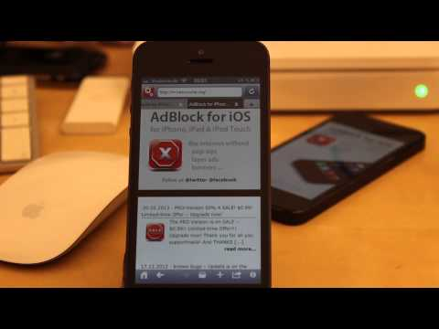free AdBlock for iOS 6 - Block Pop Ups, Layer-Ads, Redirections and Banners