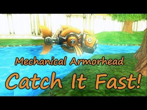 Wizard101: Fishing Catch It Fast - Mechanical Armorhead