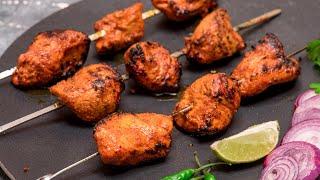 Chicken Tikka Restaurant style on Gas Stove | Chicken Tikka Recipe without Oven Tandoor on Tawa