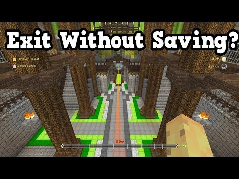 Minecraft Xbox / PS4 QnA - Battle Gameplay & Exit Without Saving