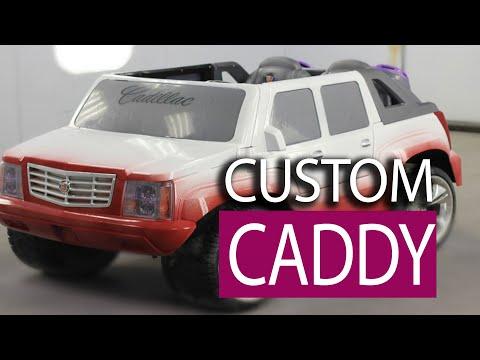 Custom Painted Job - Power Wheels Cadillac