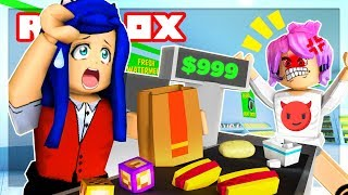 Roblox Family - MY FIRST JOB! I ALMOST GET FIRED!!! (Roblox Roleplay)