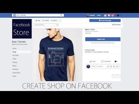 Facebook Store   Facebook Shop   How To Make Online Store on Facebook