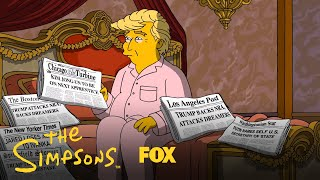 A Tale Of Two Trumps | Season 29 | THE SIMPSONS