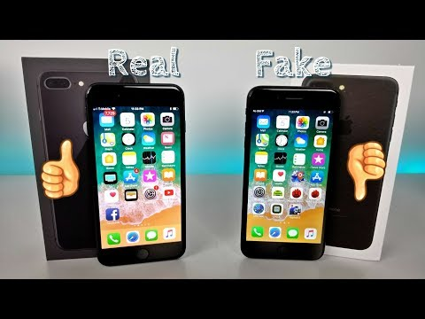 Goophone i8 Plus - Fake iPhone 8 Plus Vs Real -