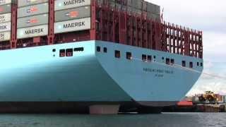 Världens största containerfartyg 2013 (HD)
