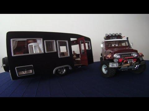 [RC Trailer Camping car] handmade - Scale 1/10
