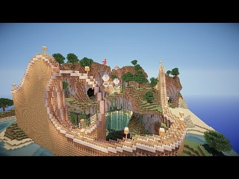 How To Build A Realistic Roller Coaster in Minecraft - 1