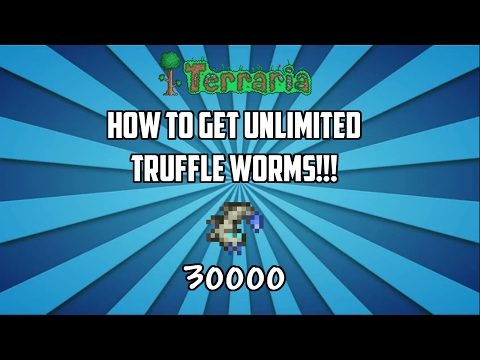 Terraria ios 1.2.4 | How to Get UNLIMITED Truffle Worms!!! (Working 2017) Unlimited Bait Glitch