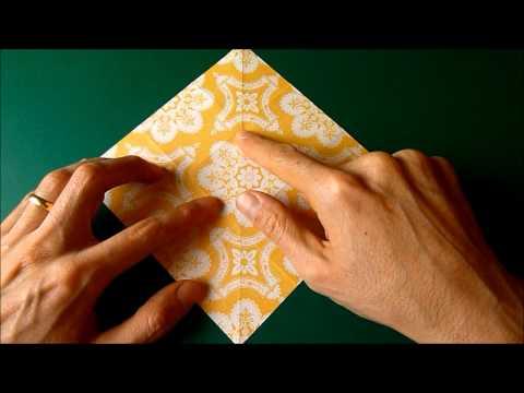Square Origami Envelope