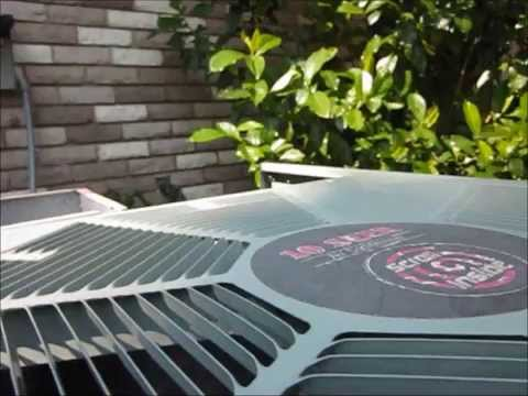 Rheem Condenser Cleaning With Coil Cleaner