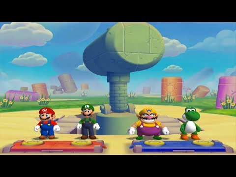 Mario Party 5 - All Mini Games