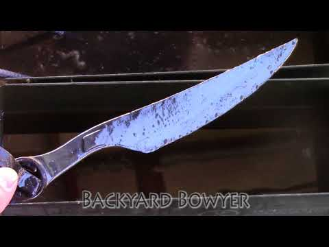 Blacksmithing Wrench Knife - Making a Fallout 4 Inspired Disciples Blade