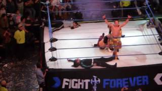 Fight Forever - The hardy boyz vs The young bucks
