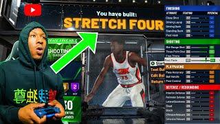 The Best Stretch Big Build NBA 2K20! This DEMIGOD build is CRAZY! Best Shooting Center Build 2K20!