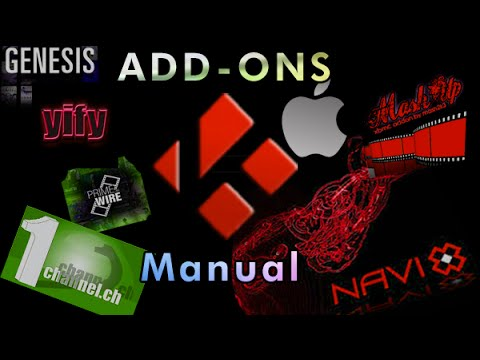 How to Manually install Addons on (KODI-XBMC) MAC
