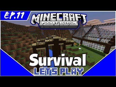 The Bridge - Survival Let's Play EP.11 -Minecraft PE(Pocket Edition)