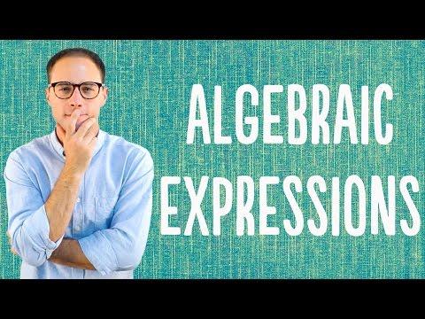 Algebraic Expressions (Advanced)