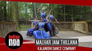 Malhar Jam Thillana | Kuchipudi Dance | IndianRaga Group Fellowship