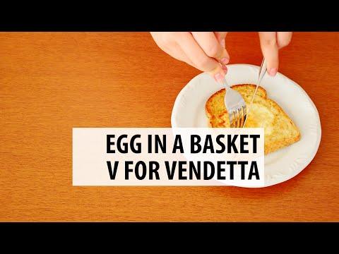 Egg in a Basket | V for Vendetta #FFF28